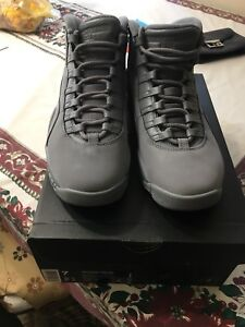 Jordan 10 'Cool Grey' size 7 mens