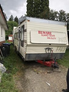 1982 trailer for spare parts or turn into utility trailer