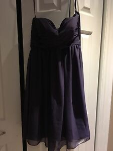 Two Size 4 purple bridesmaid dresses