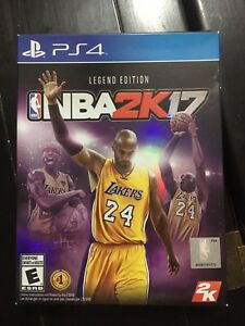PS4 game NBA 2K17 legend edition