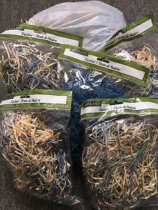 Excelsior (shredded wood fibers)