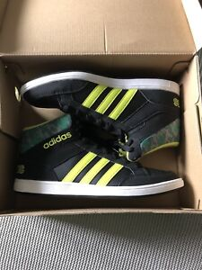 New/never worn boys size 6 adidas neon shoes