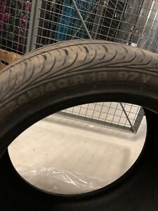 245/40/r18 Set of tires from mercedes e-class