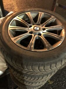 "4x BMW 228i 16"" tires/pneus with Mags (can be sold separately)"