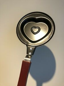 Mini heart❤️ frying pan with lid