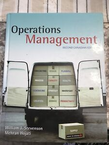 Operations Management - Second Canadian Edition