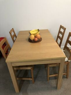 Dining Set with 4 Chairs looking for a home