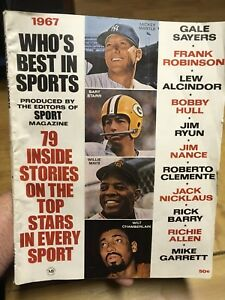 Who's best in sports revue / magazine