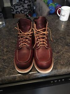 Red wing moc toe 8138
