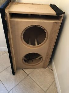 "Heavy Duty 12"" Subwoofer Box"