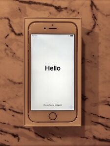 Gold iPhone 6s with ClearPlex screen protector