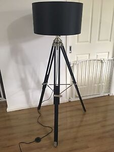 Tripod Floor Lamp - black Windsor Hawkesbury Area Preview
