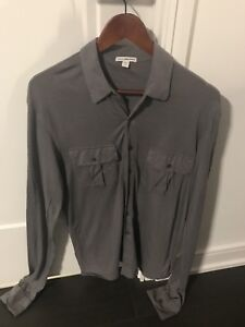 Men's button up shirt James Perse sz 1