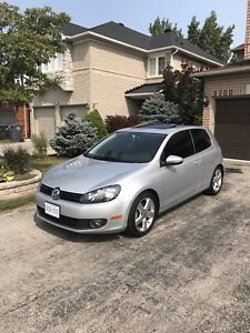 VW Golf Sportline Low KM