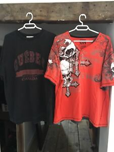 T-shirts homme costaud