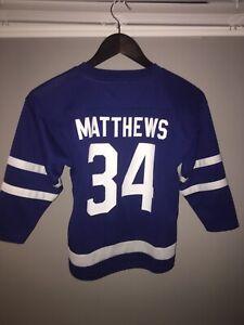 Auston Matthews Maple Leafs Child Jersey