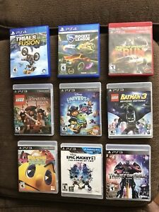 PS4/PS3 Games For Sale