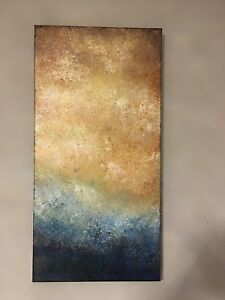 Original abstract painting 40x80 cm