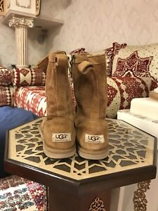 authentic uggs suede booties