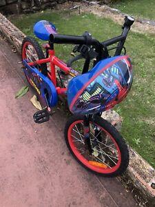 Kids bike 3-6 years old with helmet $30