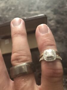 Full wedding ring set