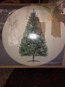 6.5  ft foxwood Multi  Colour Lighted Pine Tree