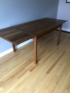 Teak vintage dining table
