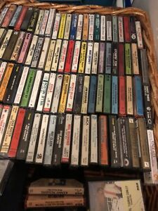 Over 100 Cassette tapes
