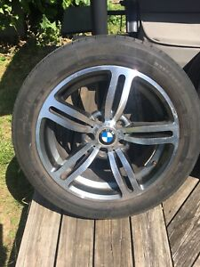 Pneus et mags x 2 mags and tires bmw 17 pouces
