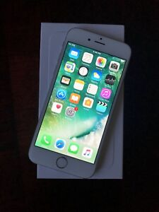 128GB iPhone 6 Silver - $350 FIRM - CASH ONLY