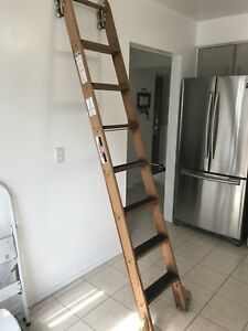 Rolling Library ladder