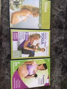 3 pre/post natal workout dvds