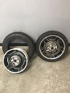Harley Davidson touring wheels and tires