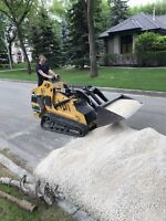 Skid Steer with Operator for Hire.