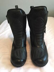 RST ladies waterproof motorcycle boots (size 37) Glebe Inner Sydney Preview