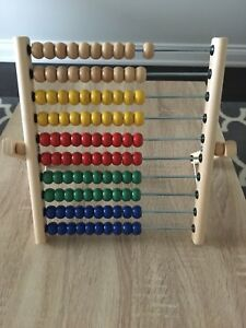 Ikea abacus toy
