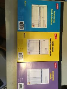 Staples Invoice, Sales and Statement books