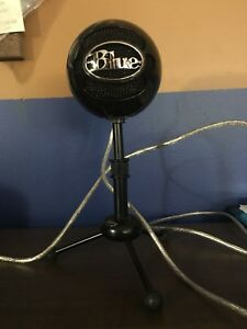 Blue Snowball (Gloss Black)