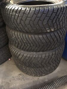 4 Pneus 195/70r14 Goodyear Ultra Grip
