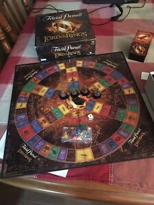 Lord of the Rings, trivial pursuit.
