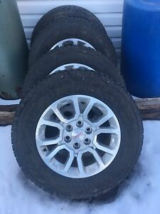 GMC rims & tires for sale
