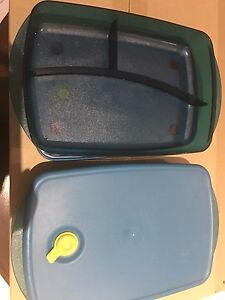 Tupperware containers x2 Oakbank Adelaide Hills Preview