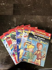 4 The Magic School Bus Reading Books