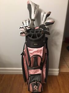 Ladies right hand golf clubs