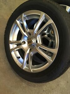 4 summer tires with mag 195/55/15 (4x114.3)