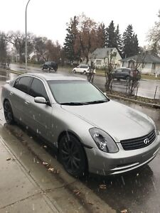 Selling 2004 G35
