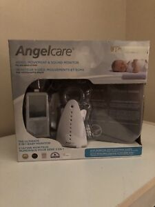 Angelcare video, sound, motion and heart rate monitor