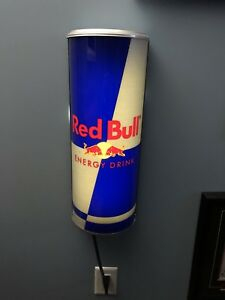 Red Bull Neon Can Bar Sign