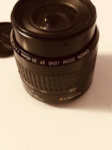 Canon zoom 35- 80mm 3.5 lens