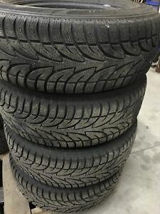 245/70R16 snow tires from dodge dakota